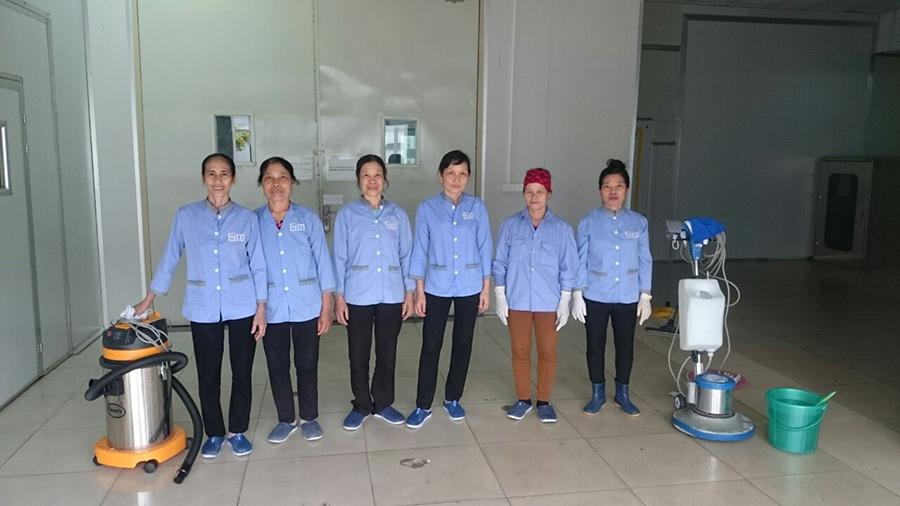 Công ty vệ sinh Hoàn Mỹ Clean cung cấp dịch vụ vệ sinh công nghiệp chuyên nghiệp, uy tín