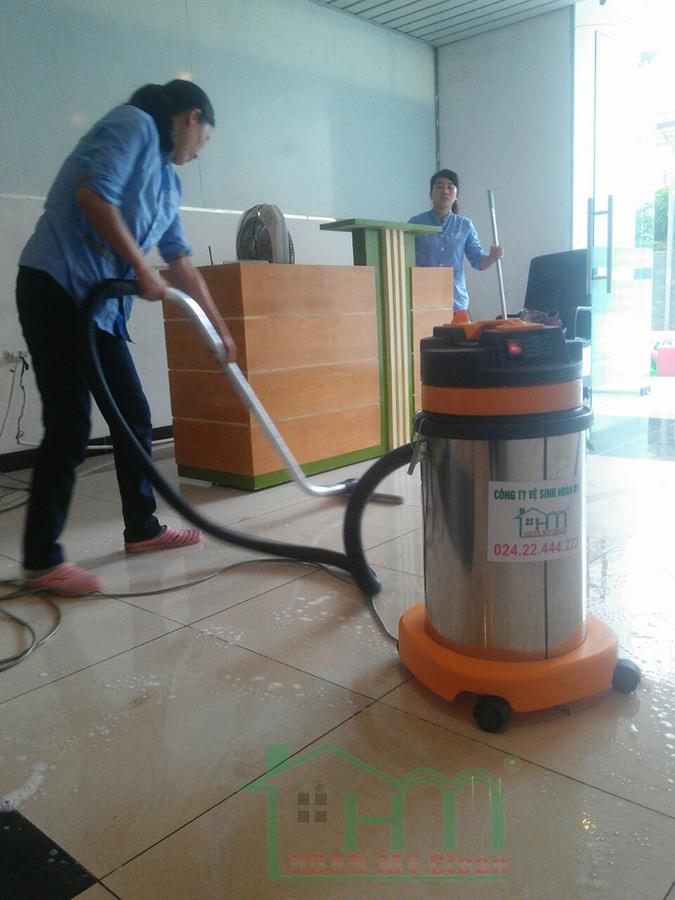 Hoàn Mỹ Clean cung cấp dịch vụ làm sạch chuyên nghiệp tại trung tâm văn hóa Việt Nhật