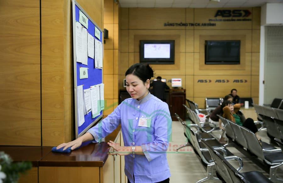 Công ty Hoàn Mỹ Clean cung cấp dịch vụ tạp vụ văn phòng Hà Nội uy tín, chuyên nghiệp