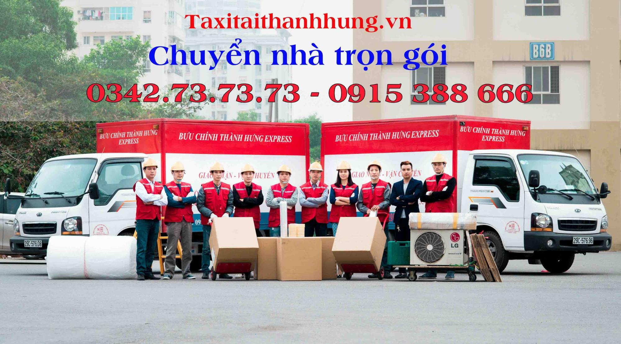 Dịch vu chuyêrn nhà - chuyển văn phòng trọn gói Thành Hưng